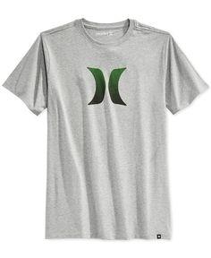 Hurley Icon Fade Premium Graphic-Print Logo T-Shirt Inverno 69f4cef0323