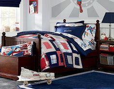 I love the Pottery Barn Kids Captain America Bedroom on potterybarnkids.com