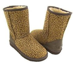 Leopard Classic Short UGG Boots .The Christmas promotion! Our Price : $150.00 Sale Price :$89.00 Save: 41% off