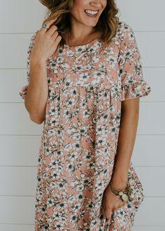 Floral Babydoll Dress | ROOLEE