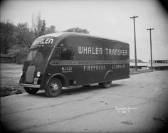 Whalen Transfer Co. Moving Van | Photograph | Wisconsin Historical Society