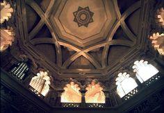 Palacio de la Aljafería, cúpula del oratorio, Zaragoza - Archivo del Gobierno de Aragón