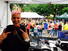Rain can't stop us! We are still going strong with new tents adds on the dance floor until midnight! #prideto #My519
