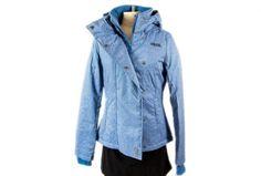 Trendige Jacke von Denim Button Up, Button Up Shirts, Trends, Fashion Online, Raincoat, Shopping, Fashion Styles, Jackets, Rain Jacket