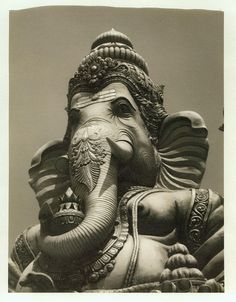 Ganpati - Nandi Hills, Karnataka, India by Christopher Mark Perez, via Flickr