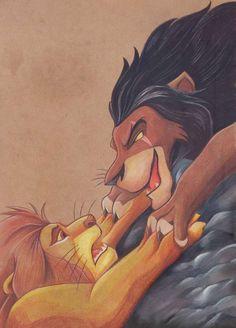 Beautiful Lion King Artwork