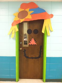Halloween or Fall door decoration