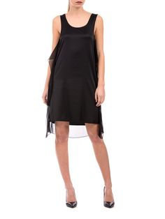 MM6 Maison Margiela - dress with tulle details - ZO ET LO EASY SHOPPING WORLDWIDE EXPRESS SHIPPING
