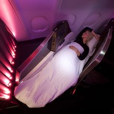 Upper Class Suite by Simon Pengelly for Virgin Atlantic - I Think its ugly and cramped compared to the existing one designed by Softroom