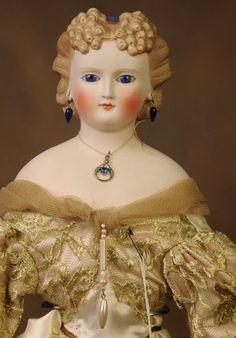 Ранние немецкие куклы с головами из париана и бисквита. Обсуждение на LiveInternet - Российский Сервис Онлайн-Дневников