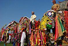 Hastimangala el Festival de Elefantes de Jaipur