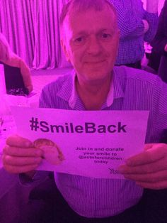 Action for Children @actnforchildren  6m6 minutes ago Thanks to @andrew_farley59 @JAYJAMES & the rest of our lovely supporters at the #BigMatch for your #SmileBack pics!