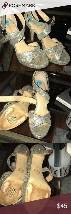 Michael Kors heels Sparkle sparkle sparkle Michael Kors heels Michael Kors Shoes Heels