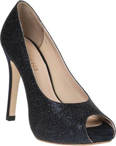 Lance - Glittery peep toes shoe with high quality leather lining and comfort padding Peep Toe Shoes, Shoe Collection, Leather Shoes, Fashion Shoes, High Heels, Footwear, Luxury, Women, Leather Dress Shoes