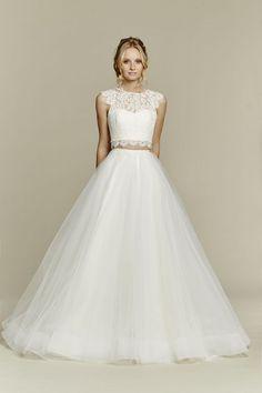 2 pezzi abiti da sposa