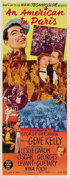 An American in Paris (1951) ****