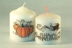 Craft Projects and Tutorials to Ensure You Have a TERRORific Halloween!: Easy DIY Halloween Candles