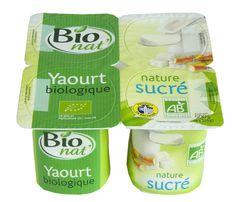 Yaourt bio sucré au sucre de canne bio Bio nat'