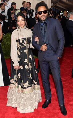 Lisa Bonet & Lenny Kravitz from 2015 Met Gala Arrivals   E! Online