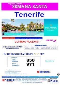 Tenerife, Semana Santa en Bahia Principe San Felipe, salida 12 Abril desde Santiago de Compostela ultimo minuto - http://zocotours.com/tenerife-semana-santa-en-bahia-principe-san-felipe-salida-12-abril-desde-santiago-de-compostela-ultimo-minuto-3/
