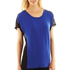 Colorblocked Top - jcpenney