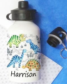 Personalised Water Bottles Personalized Water Bottles, School Lunch, Drinks, Custom Water Bottles, School Lunch Food, Drinking, Beverages, Drink, Beverage