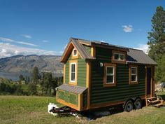"""That's right- the tiny house (that used to be on the prairies) is planning on another move! We've loved being in the Ok"