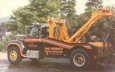 "1965 Mack B Model, ""The Honey Bee"" - Providing #Tow truck insurance for over 30 years - www.TravisBarlow.com"