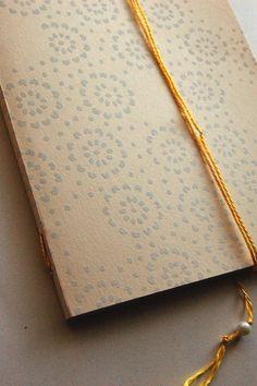 handmade notebook. definaestampa