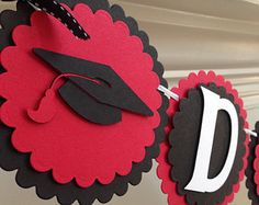 black and red graduation party - Google Search