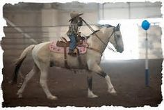 Cowboy Mounted Shooting - This is Josie Lauman in the photo, riding her mom's (Kitty Lauman), rifle horse