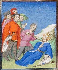 1410 BGE Ms. fr. 190/2 Des cas des nobles hommes et femmes