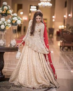 Buy Pakistani Wedding Dresses, Pakistani Bridal Wear, Paksitani Bridal Dresses Online at Nameera by Farooq. Visit Us Now : www.NameerabyFarooq.com Call / Whatsapp : +1 732-910-5427