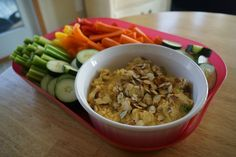chicken curry dip.  I added grapes and celery and made chicken salad, very good!