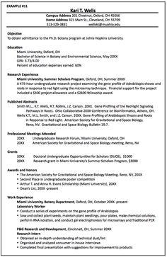 Chair phd resume