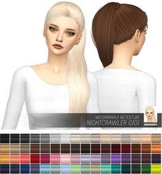 Miss Paraply: Nightcrawler Gigi: solids • Sims 4 Downloads