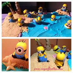 I just {love} this Despicable Me cake by #sugarfixation  These cake girls ROCK! Great taste & Fab design-work. (www.sugarfixation.com)