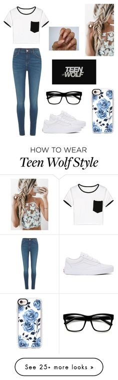 """Addi"" by kendall-bostic on Polyvore featuring River Island, Vans, WithChic and Casetify"