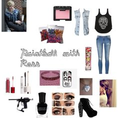 """Paintball with Ross"" by callie-corbin on Polyvore"