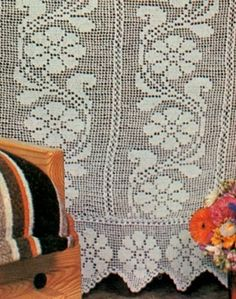 Tramezzi Per Tende A Filet.269 Fantastiche Immagini Su Tende A Filet Nel 2019 Crochet