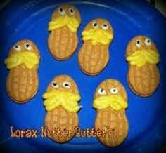 Lorax treat for Dr. Suess Day