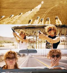 Susan Sarandon, Geena Davis in Thelma Louise (Ridley Scott, Series Movies, Movies And Tv Shows, Thelma And Louise Movie, Citations Film, Edward Norton, Susan Sarandon, Movies Worth Watching, Film Inspiration, Serge Gainsbourg
