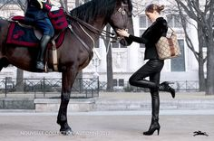 Longchamp - Fall/Winter campaign 2012 by Max Vadukul