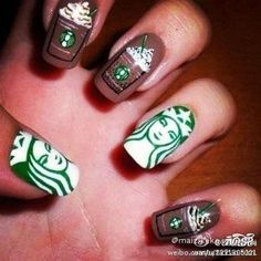 creative nail art Stone