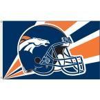 3 ft. x 5 ft. Polyester Denver Broncos Flag