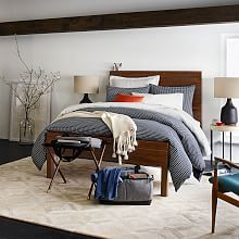 Beds, Platform Beds, Upholstered Beds & Queen Beds | West Elm; full, $899