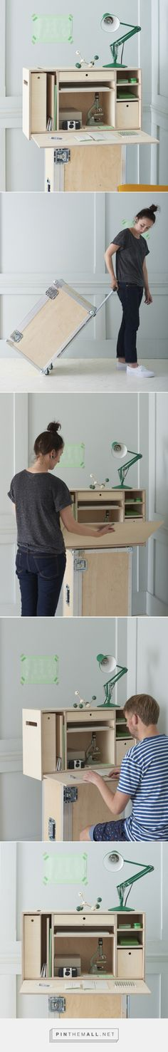 portable research lab by baines & fricker - created via http://pinthemall.net