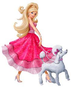 Barbie Moda e Magia - Kit Completo com molduras para convites, rótulos para guloseimas, lembrancinhas e imagens! Barbie Paper Dolls, Barbie Cake, Barbie Dress, Barbie Birthday Party, Barbie Party, Pink Sparkle Background, Barbie Cartoon, Barbie Images, Disney Princess Pictures