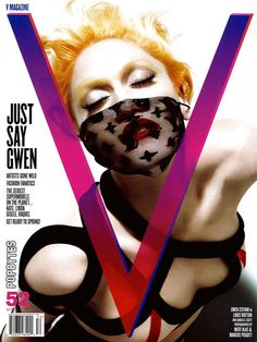 V Magazine - March 2008 / Photographer Mert Alas and Marcus Piggott Entertainer Gwen Stefani