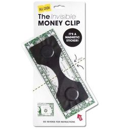 Invisible Money Clip Slim Card Holder Cash Wallet Purse Bills Dollar Euro Gadget * Visit the image link more details. (Note:Amazon affiliate link)